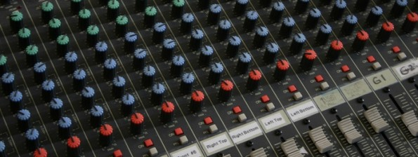 Multi-channel audio mixer